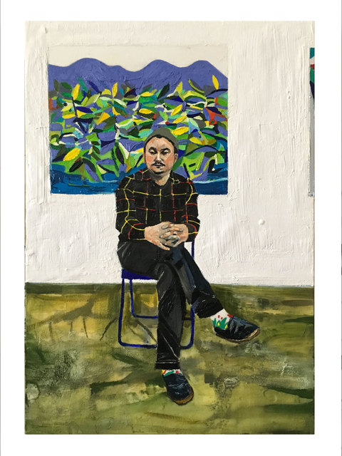 , 'Darcy in the Studio,' 2016, Brand New Gallery