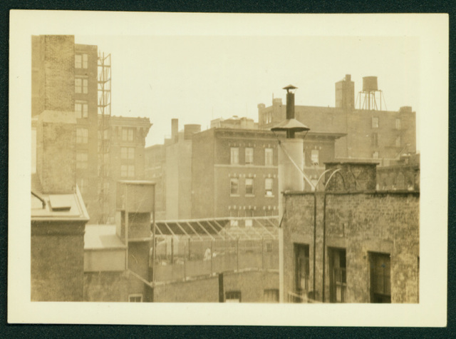 , 'Rooftops, Greenwich Village,' , Delaware Art Museum