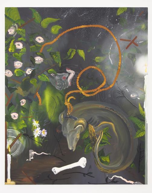 , 'Sleeping in Dreams of Security,' 2016, Yautepec