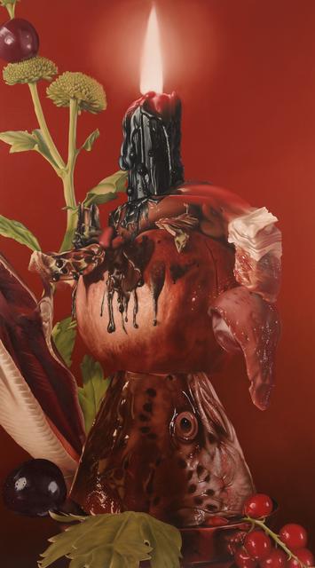 Stephen Peirce, 'Candelabrum', 2018, Painting, Oil on canvas, Mark Hachem Gallery