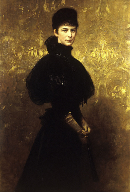 , 'Portrait of Empress Elizabeth,' 1899, The National Gallery, London