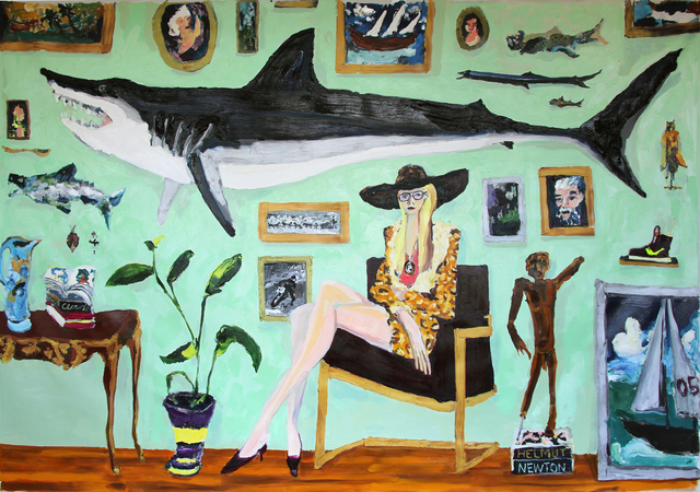 , 'Shark,' 2016, Angell Gallery