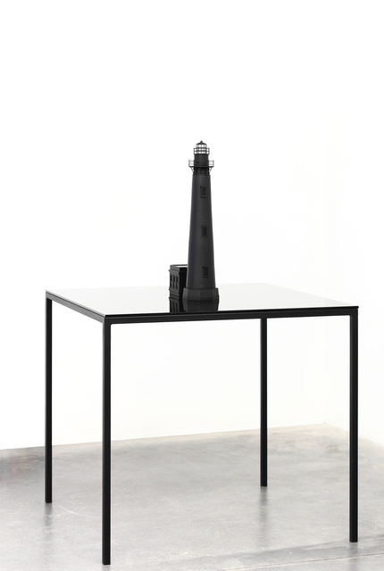 , 'Black Lighthouse I,' 2015, Meessen De Clercq