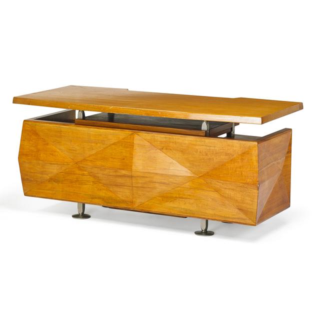 'Style Of Melchiorre Bega, Desk, Italy', 1950s, Rago/Wright
