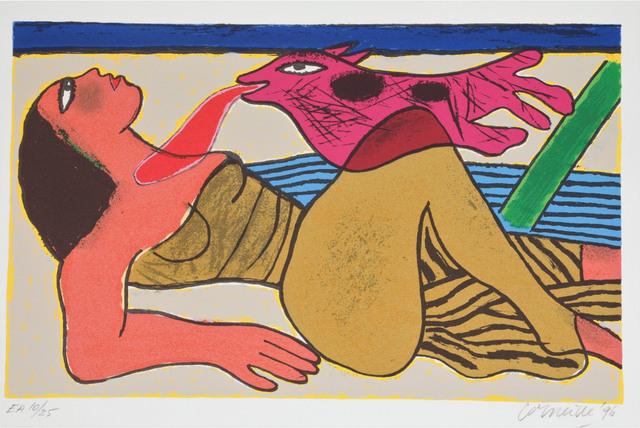 Guillaume Corneille, 'Le baiser ', 1996, Le Coin des Arts