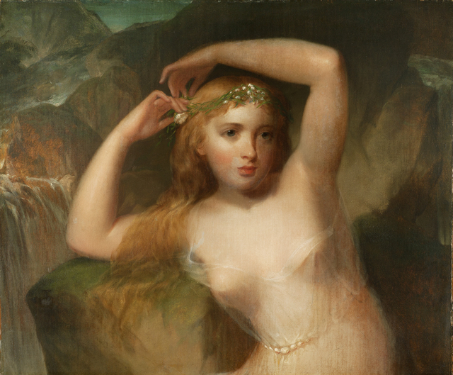 , 'A Sea Nymph,' 1839-1842, Debra Force Fine Art