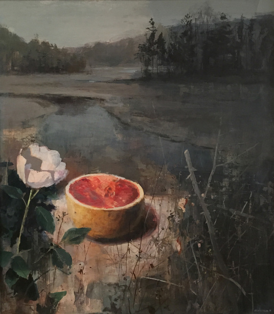 , 'Grapefruit and Roses,' 2014, Quidley & Company