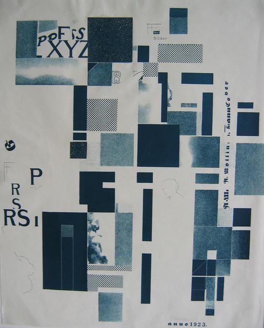 , 'Lithograph and Collage,' 1923, Alice Adam Ltd.