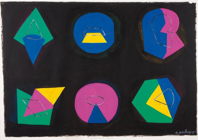 """Costa Pinheiro, '""""Geometria mágica""""', Veritas"""