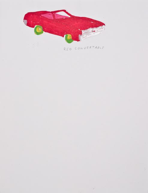Jim Torok, 'Red Convertable', 2014, Lora Reynolds Gallery