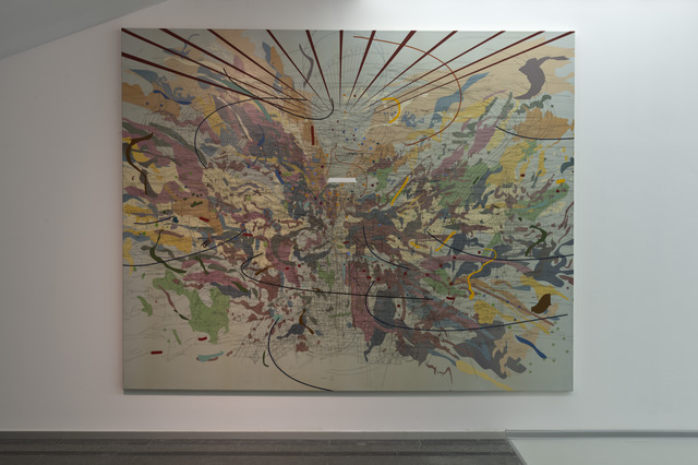 Julie Mehretu, 'Looking Back to a Bright New Future', 2003, PinchukArtCentre