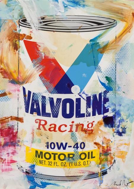 , 'Oil on Canvas VALVOLINE II,' 2017, Galerie Barbara von Stechow