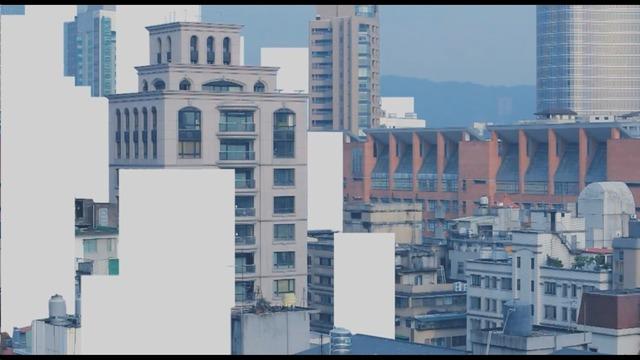 , 'Cityscape,' 2015, Taipei Fine Arts Museum