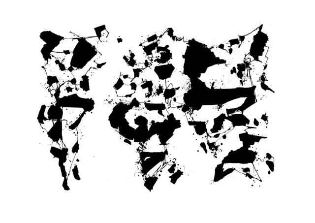 , 'Atlas 3,' 2013, Make Your Mark