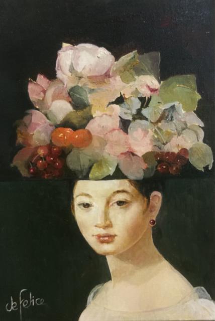Françoise de Felice, 'Collage Melle Riviére', 2019, Galerie Calderone