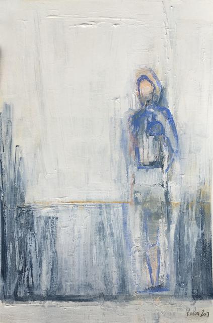 , 'Blue Figure I,' 2017, BoxHeart