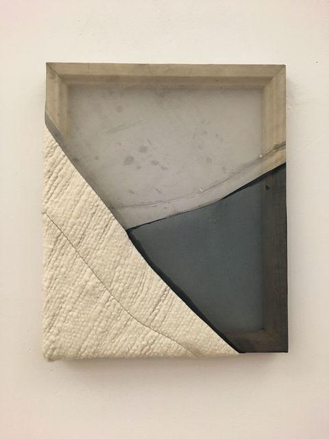 , 'Blue/Grey 1,' 2017, Rhona Hoffman Gallery