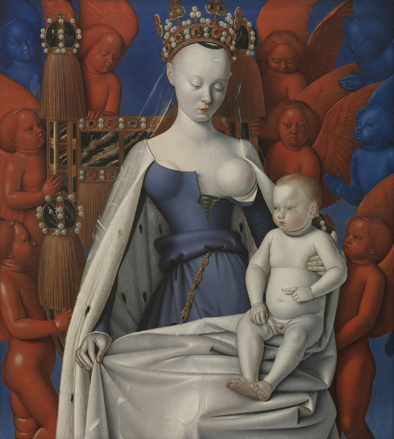 , 'Madonna Surrounded by Seraphim and Cherubim,' 1452, Koninklijk Royal Museum of Fine Arts