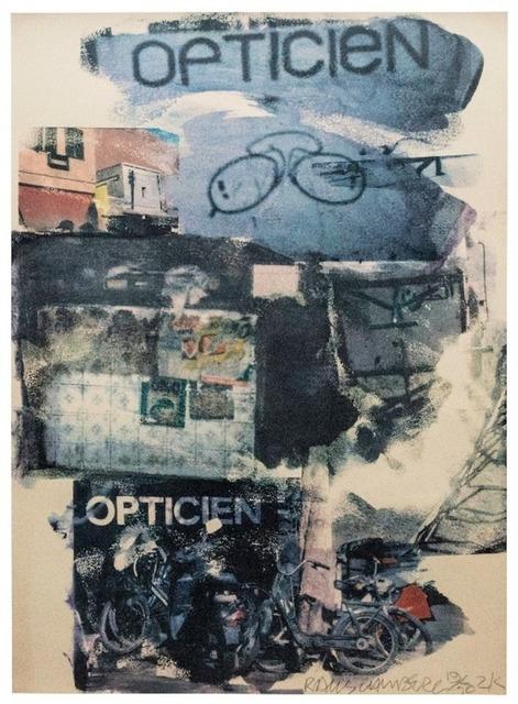 Robert Rauschenberg, 'Site ', 2000, Kogan Amaro