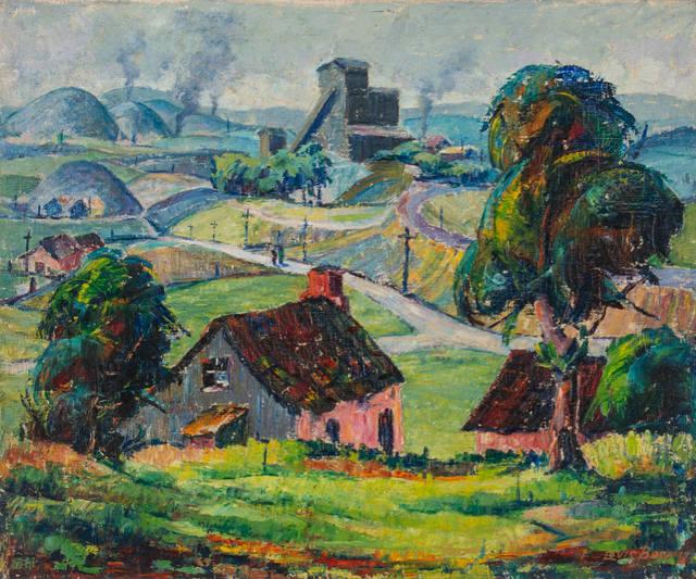 Louis Bosa, 'Bucks County', 1934, WOLFS