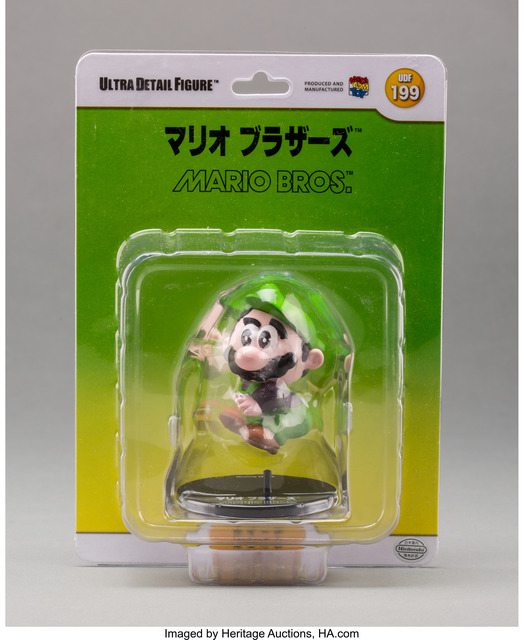 Nintendo, 'Luigi, from Mario Bros. (UDF 199)', 2013, Other, Painted cast vinyl, Heritage Auctions