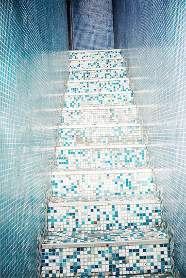 , 'Tiled Stairway, Rocinha Favela, Rio de Janeiro, Brazil,' 2014, Lora Reynolds Gallery