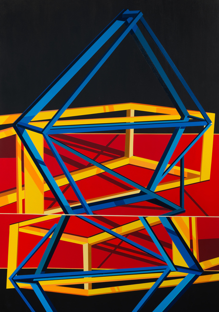 , 'Twin Diamonds,' 2015, Inman Gallery