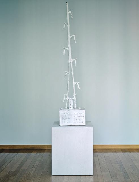 , 'Ticket (Thicket of Ur),' 1990-1999, Kunstmuseum Basel