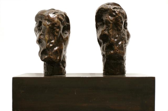 , 'Emperor's Heads,' 1961, Bruce Silverstein Gallery