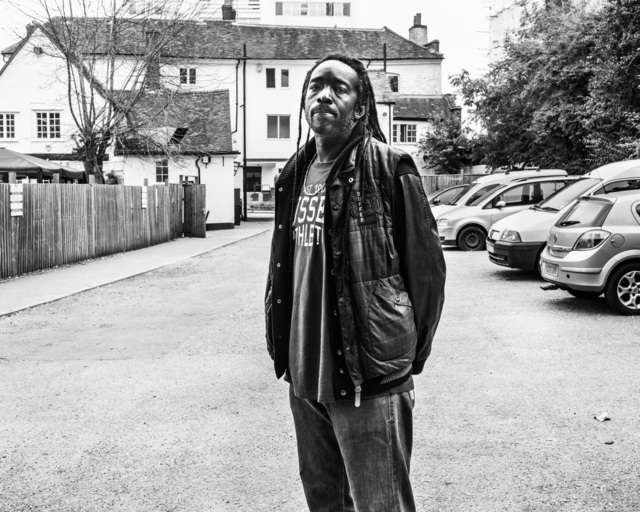 , 'Richi Ellis served 11 years after being convicted of joint enterprise for a murder that happened in this yard. He was 600 meters away at the time of the victim's death. Harrow, Middlesex,' 17 September 2014, Pace/MacGill Gallery