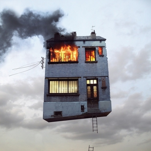 , 'Flying Houses #5,' 2012, Galeria Lume