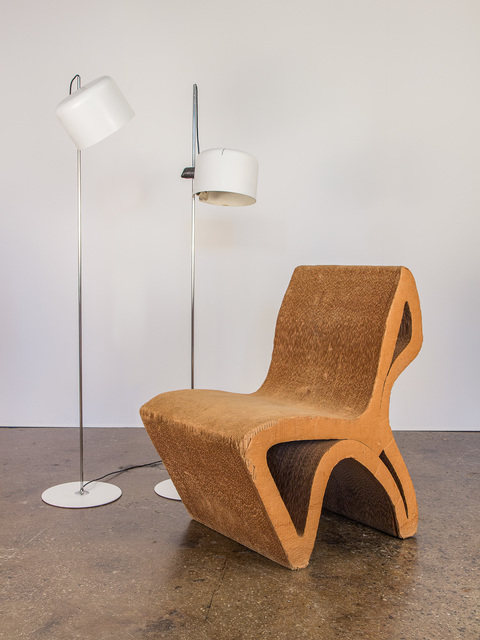 , 'Vintage Corrugated Cardboard Chair,' ca. 1980, Open Air Modern