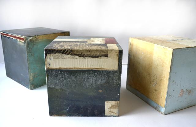 , 'Three six-sided paintings,' , Cadogan Contemporary