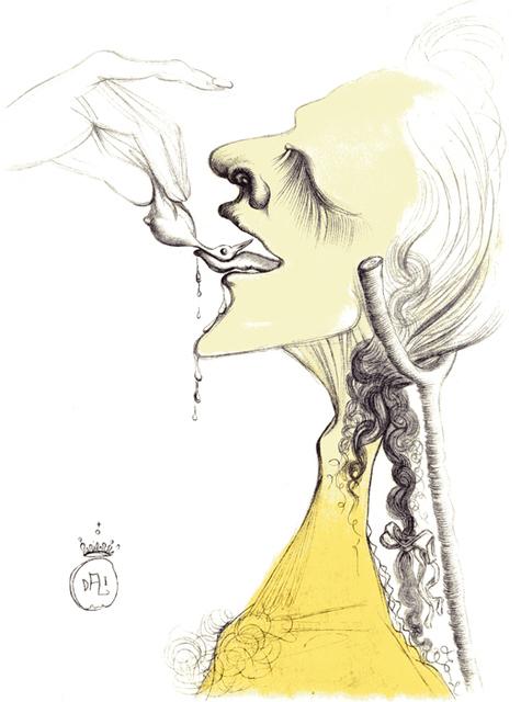 Salvador Dalí, 'Casanova - Bird On Tongue', 1967, Dali Paris