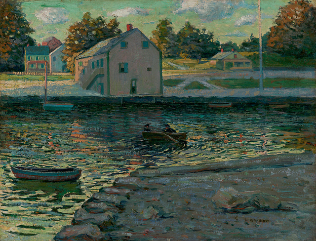 , 'Boating on the Connecticut River,' , Questroyal Fine Art