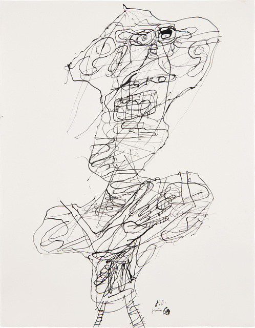 Jean Dubuffet, 'Personnage (no. 25)', 22068, Phillips
