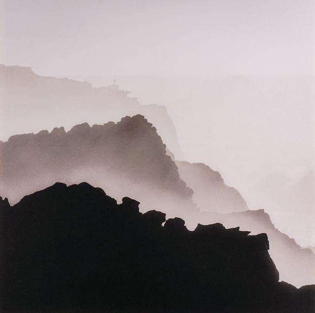 , 'Figure and Coastal Mist, Oregon,' 2018, Peter Fetterman Gallery