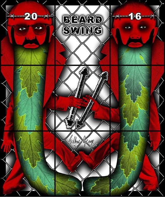 , 'Beard Swing,' 2016, Alfonso Artiaco
