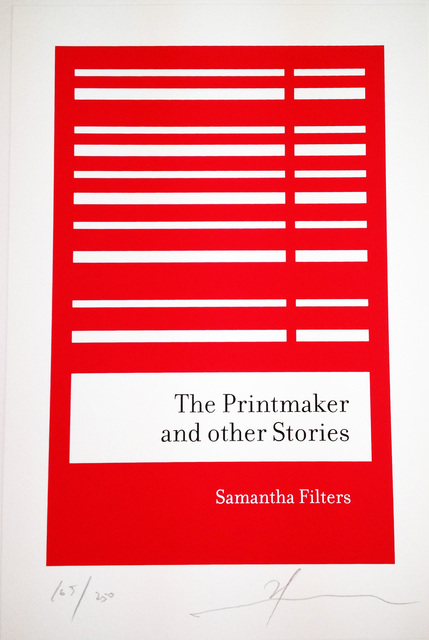 , 'The Printmaker and other stories,' 2007, STPI
