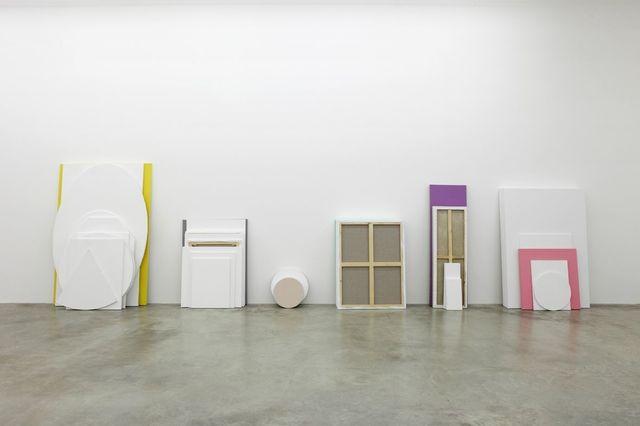 """Claude Rutault, 'de-finition/method  the accursed stack / dé-finition/méthode """"la pile maudite""""', 2010, Perrotin"""