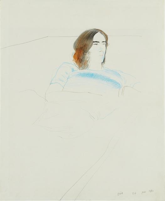 David Hockney, 'Ossie', June 1972, Phillips