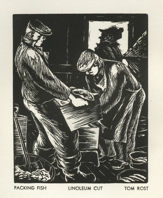 Tom Rost, 'Packing Fish', 1936, David Barnett Gallery