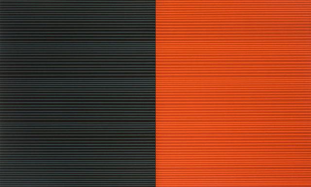 Francisco Suárez, 'Grey and orange diptych', 2015, Victor Lope Arte Contemporaneo