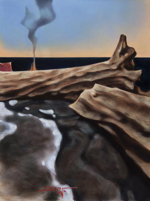 Z.Z. Wei, 'Beachside Bonfire', 2019, Patricia Rovzar Gallery