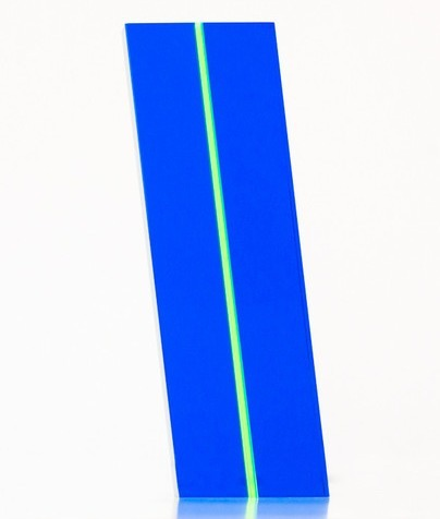 Vasa, 'Blue Kryptonite', 2014, Sculpture, Acrylic, Caviar20