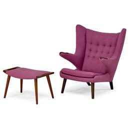 Papa Bear chair and ottoman, Denmark
