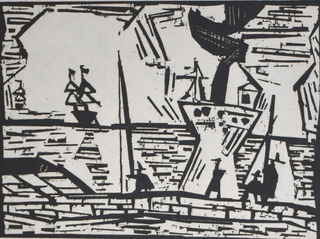 , 'On the Quay Wall | Auf der Quaimauer,' 1921, Gilden's Art Gallery
