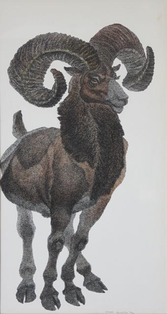 Oliver Fetterolf Grimley, 'Mountain Goat', 1970, EastCoastArt