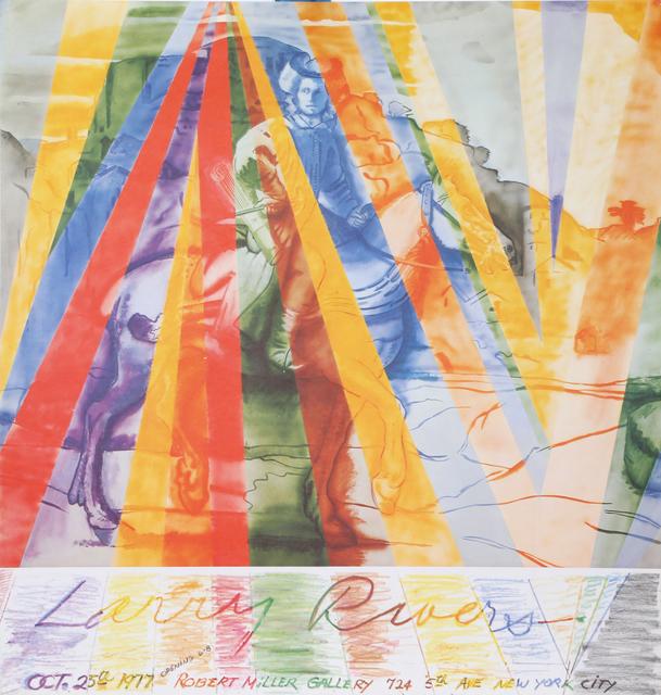 Larry Rivers, 'Robert Miller Gallery Poster', 1977, RoGallery