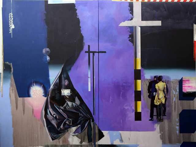Rayk Goetze, 'Stätte', 2020, Painting, Oil and acrylic on canvas, Josef Filipp Galerie